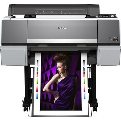 Epson grootformaat printer: SureColor SC-P7000V - Cyaan, Groen, Licht zwart, Lichtyaan, Licht licht zwart, Mat Zwart, .....