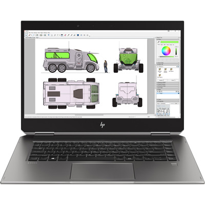 HP ZBook Studio x360 G5 Laptop - Zilver