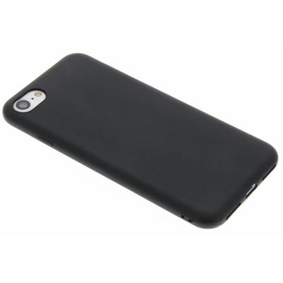 CP-CASES Color Backcover iPhone SE (2020) / 8 / 7 - Zwart / Black Mobile phone case