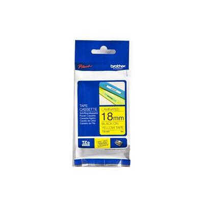 Brother Labeltape 18mm Labelprinter tape - Grijs
