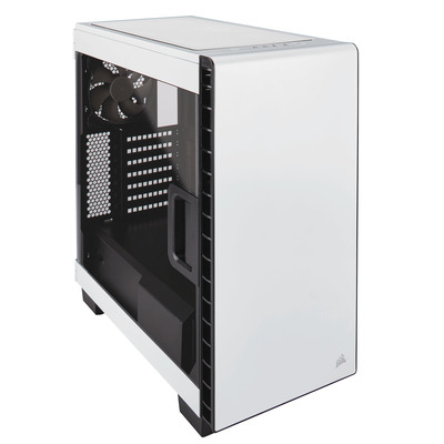 Corsair behuizing: Carbide Clear 400C - Wit