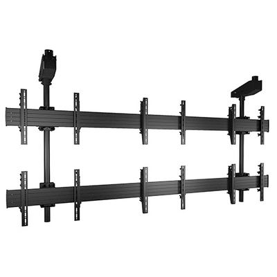 Chief FUSION Micro-Adjustable Large Ceiling Mounted 3 x 2 Video Wall Solutions, Black Montagehaak - Zwart
