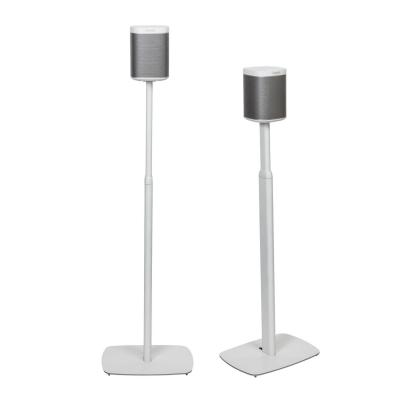 Flexson speakersteun: Adjustable Floor Stand for SONOS PLAY:1 (Pairs) - Wit