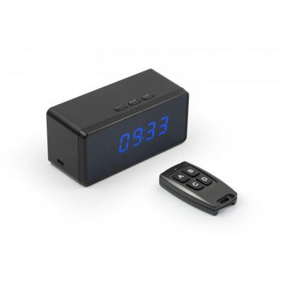 Technaxx : CLOCK WITH FULLHD - Zwart
