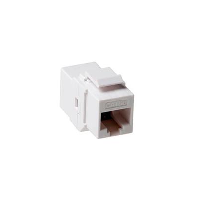 ACT Keystone koppelstukken RJ-45 unshielded Kabel adapter - Wit