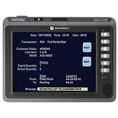 Zebra PDA: VC70N0 - Zwart
