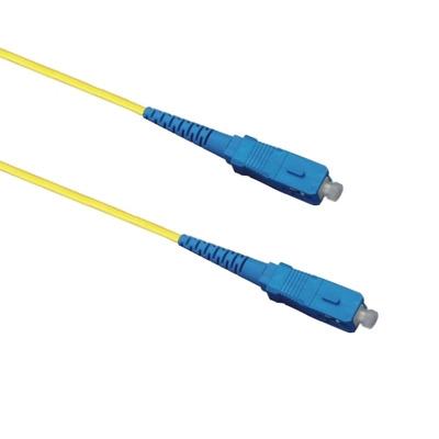 EECONN Glasvezel Patchkabel, 9/125 (OS1), SC - SC, Simplex, 15m Fiber optic kabel - Geel