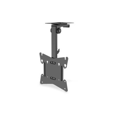 """ASSMANN Electronic TV Ceiling Mount, 17-37"""", 20kg max, 202-262mm, Black Montagehaak - Zwart"""