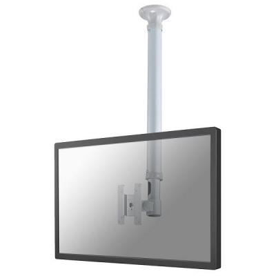 """Newstar flat panel plafond steun: Flatscreen Plafondsteun, 26"""" Max, Draagvermogen 12kg, Kantelen 180°, Roteren ....."""