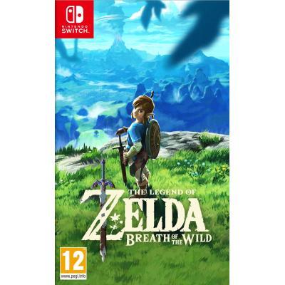 Nintendo game: Legend of Zelda, Breath of the Wild  Switch
