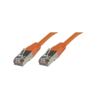 Microconnect F/UTP CAT5e 5m Orange PVC Netwerkkabel - Oranje