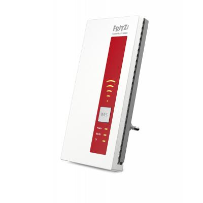 Avm TV tuner: FRITZ!WLAN Repeater DVB‑C, DE - Rood, Wit