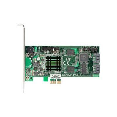 Areca ARC-1200, PCIe x1, SATA ll RAID Interfaceadapter
