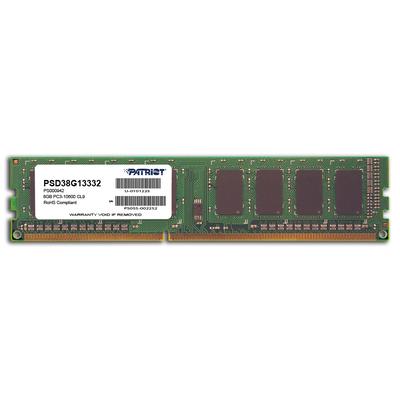 Patriot Memory 8GB PC3-10600 RAM-geheugen