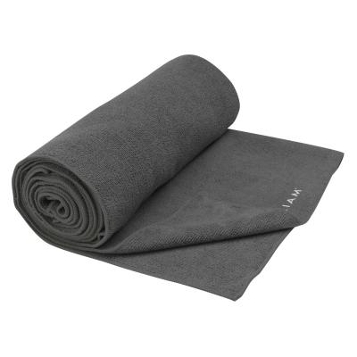 Gaiam haddoek: Gaiam, Grippy Athletic Yoga handoek - Grijs