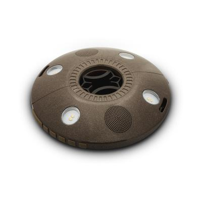 Ion audio draagbare luidspreker: Umbrella Light with Bluetooth Stereo Speakers, 8 super bright LEDs, IPX4 level .....