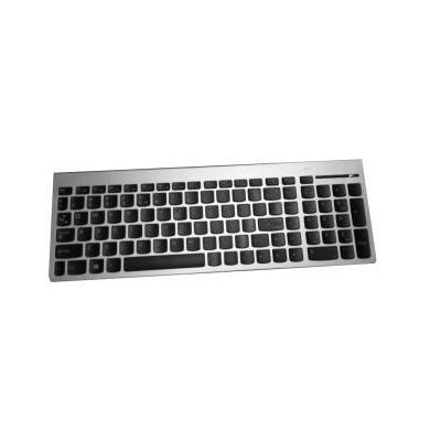 Lenovo toetsenbord: SK8861(GB) 2.4G KBMetal8  - Zwart, Zilver, QWERTY