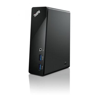 Lenovo docking station: ThinkPad Basic USB 3.0 - Zwart