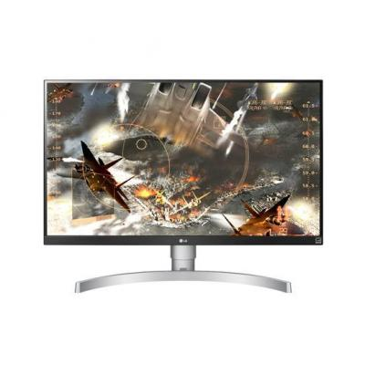 "Lg monitor: 68.58 cm (27 "") , 3840 x 2160, IPS, 5 ms, sRGB, 2x HDMI, DisplayPort, AMD FreeSync, 45 W, 100 - 240 V, VESA ....."