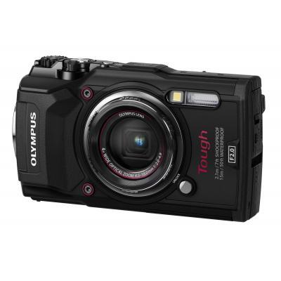 Olympus digitale camera: TG‑5 - Zwart
