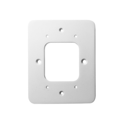 Neets UniForm Retrofit Plate, White, Metal - Wit