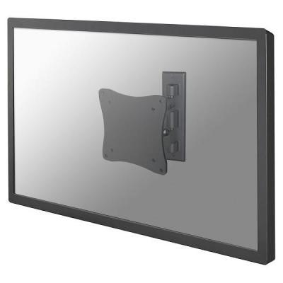 """Newstar montagehaak: De FPMA-W810 is een wandsteun met 1 draaipunt voor flat screens t/m 27"""" (69 cm) - Zilver"""