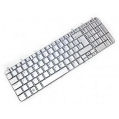 Hp notebook reserve-onderdeel: Keyboard (Greece), White - Wit