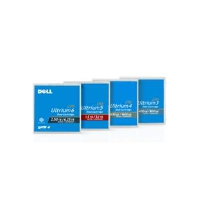Dell barcode label: LTO5 label (121-180) - Blauw