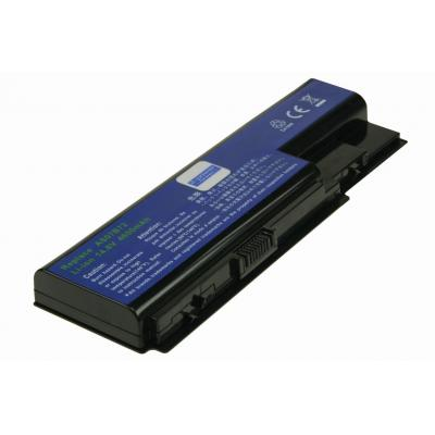 2-power notebook reserve-onderdeel: 14.8v, 8 cell, 65Wh Laptop Battery - replaces AS07B61
