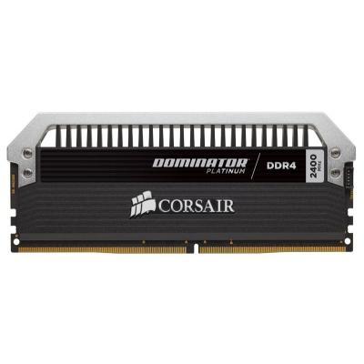 Corsair RAM-geheugen: Dominator Platinum, 64GB - Aluminium, Zwart, Grijs