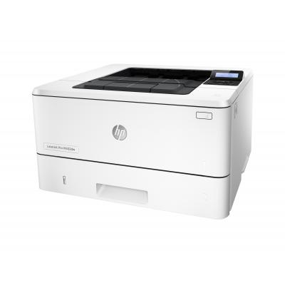 Hp laserprinter: LaserJet M402dw - Zwart
