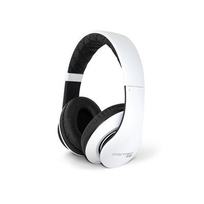 Fantec SHP-3 Headset - Zwart, Wit