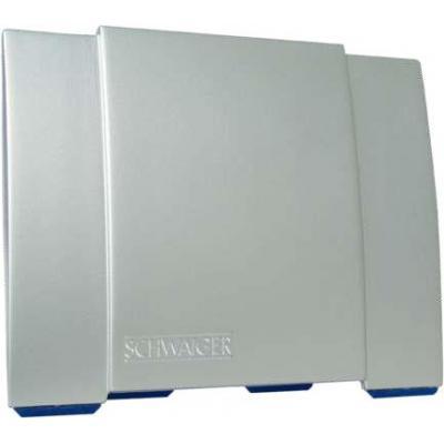 Schwaiger antenne: DVB-T2, 3m, 35 dB, 230 V, 200 g - Zilver