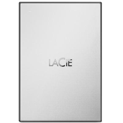 LaCie STHY2000800 Externe harde schijf - Zwart, Zilver