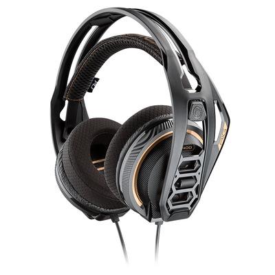 POLY RIG 400 Headset - Zwart, Oranje