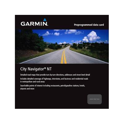 Garmin routeplanner: City Navigator Europe NT – Northwest Eastern Europe - microSD/SD card