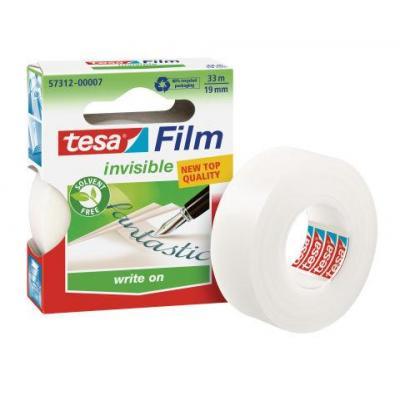 Tesa plakband: (Bestel per 10 stuk eenheden)  - Transparant