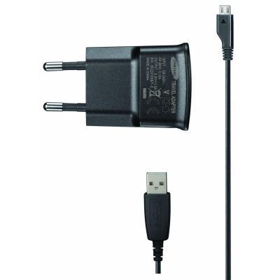 Samsung oplader: ETA0U80E - Zwart