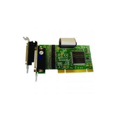 Brainboxes 4 x RS232, 9 Pin (M), 1 x LPT, PCI 3.0 Interfaceadapter - Groen