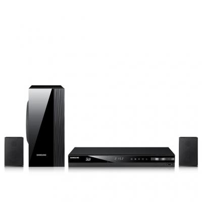 Samsung home cinema system: HT-E4200, 3D Blu-ray, 2.1 Home Entertainment System, 500W, BD/CD/DVD, USB, HDMI, FM, W-LAN .....