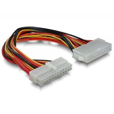 Delock electriciteitssnoer: ATX Mainboard Extension Cable 24-pin - Veelkleurig