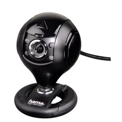 "Hama ""Spy Protect"" HD Webcam - Zwart"