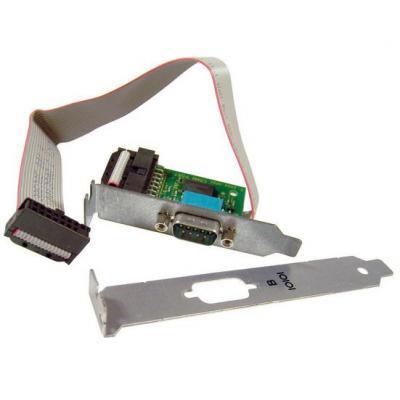 Hp interfaceadapter: 2nd Serial Port - Zwart, Grijs