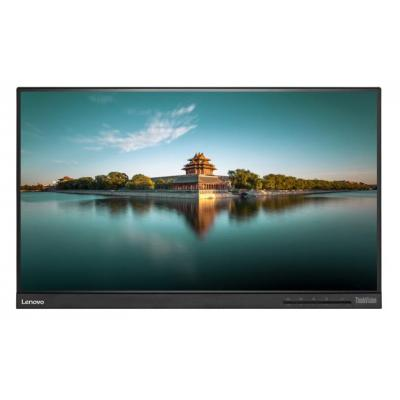 Lenovo touchscreen monitor: T2364t - Zwart