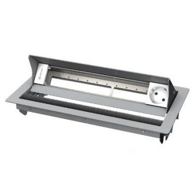 Kindermann 6-fold, 1 x mains Inbouweenheid - Zilver, Wit