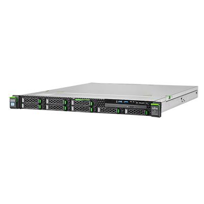 Fujitsu PRIMERGY RX1330 M4 Server - Zwart,Grijs
