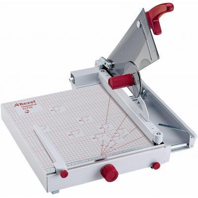 Rexel snijmachine: ClassicCut CL710 Snijtafel A4 - Grijs, Rood