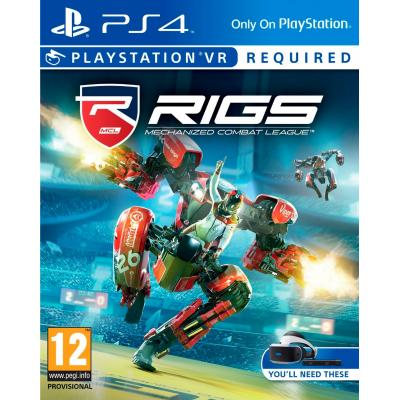 Sony game: Special Price - RIGS: Mechanized Combat League VR  PS4