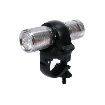 Hq zaklantaarn: 9 x LED, 3 x AAA/R03, Aluminium