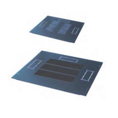 Retex Ventilation slots covers Rack toebehoren - Zwart